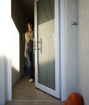 Unaferm Fabricant Et Installateur De Volets Et De Fenêtres En - Porte d entrée pvc vitrée